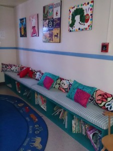 A New Book Nook for the Rosemead Early Education Center