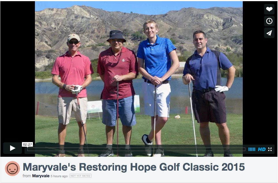Restoring Hope Golf Classic 2015