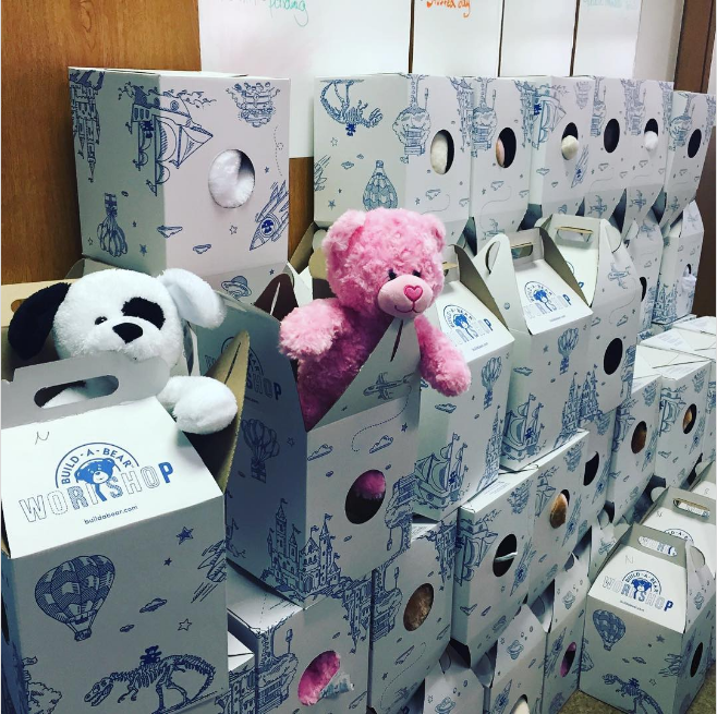 Changing Lives: Build-A-Bear love